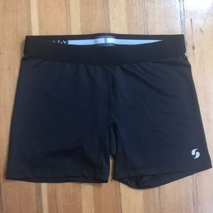 Black Soffe Compression Shorts S/M